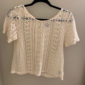 Lace American eagle T-shirt